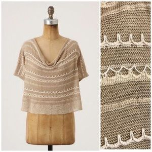 KNITTED & KNOTTED   Anthro Arid Hues Knit Blouse